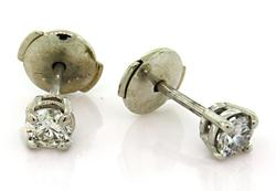 Timeless Diamond Stud Earrings