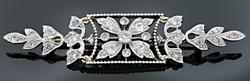 Exquisite Vintage Diamond Brooch