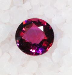 Bright Pink natural Tourmaline - 8.5mm Round
