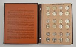 167 Coins - 1932-1998 Washington Quarters Album Partial Set
