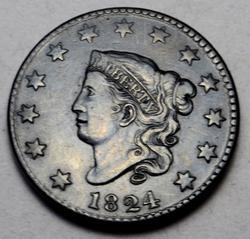 Sharp 1824 Large Cent