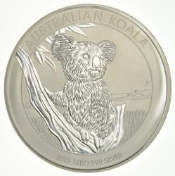 2015 Australia 30 Dollars1 Kilo 999 Silver Koala