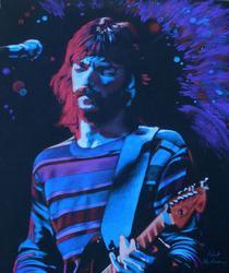 Korhonen Eric Clapton Original Drawing