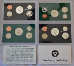 1997  1998 Proof & Silver Proof Sets