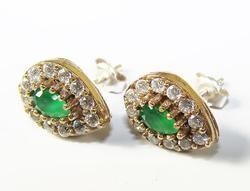 Ellegant Antique Design Handmade 925 Silver Earrings