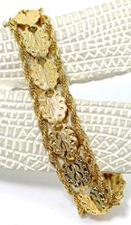 Fantastic Design 14K Yellow Bracelet