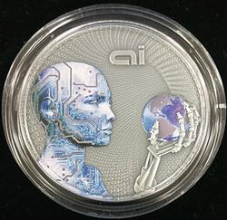 2016 AI NIUE Colorized Silver Coin 2oz 99.9% w/Box