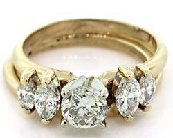 Magnificent Diamond Bridal Set
