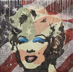 Jozza Marilyn Monroe Mixed Media