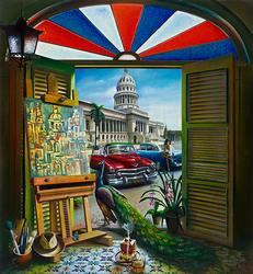 Spectacular Havana Scene by Orlando