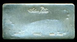 Special SilverTowne .999 Fine 100 Troy Oz Silver Bar