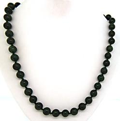 Green Jade Hand Knotted Necklace