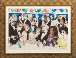 1993 LEROY NEIMAN HAND SIGNED SERIGRAPH, NIGHT AT SPAGO