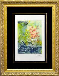 Collectible Dali Color Lithograph From 'Les Chevaux de Dali'