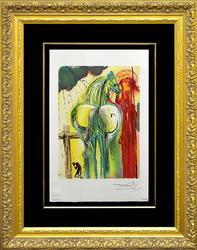 Collectible Dali Color Lithograph From 'Les Chevaux de Dali'