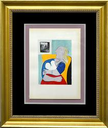 Collectible Pablo Picasso Color Pochoir Circa 1955