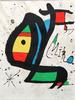 Limited Edition Signed Miro Lithograph