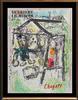 MARC CHAGALL DERRIERE LE MIROIR 1969