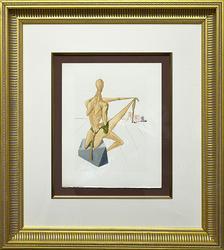 Collectible Dali Woodcut From La Divine Comedie