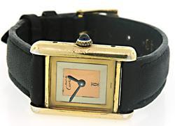 Must de Cartier Tri Color Watch