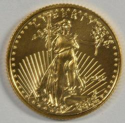 Superb Gem BU 2016 $5 American Gold Eagle