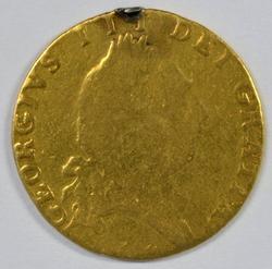 Very Scarce 1789 Great Britain 1/2 Guinea Gold Piece