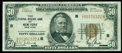 Real nice 1929 Series $50 National of New York, NY (B)