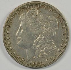 Boldly-defined Rare 1895-O Morgan Silver Dollar