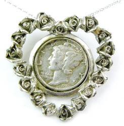 Pretty 1945 Coin Pendant