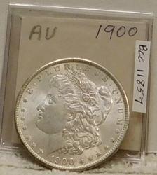 1900 Morgan Dollar,  circulated