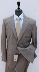 Stylish Shadow Stripe Slim Fit Suit By Galante