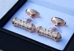 Classy Cylinder Cuff Links By Carelli