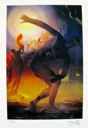 Collectible Limited Edition Color Giclee By Dali