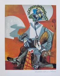 'Buckled Shoe Man' Rare Giclee By Picasso