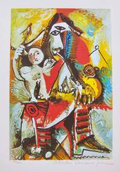 Collectible Limited Edition Color Giclee By Picasso