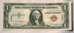 Real Choice Uncirculated 1935 A Hawaii  Overprint $1 Silver Certificate