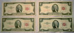1953 1953 A 1953 AND 1953 C  $2 Star US Notes