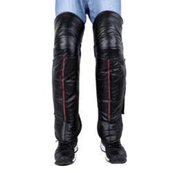 Black Hiking Riding Skiing Windproof Waterproof Leg Guards Sleeves,C