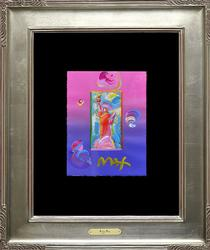 Original Peter Max Acrylic On Paper