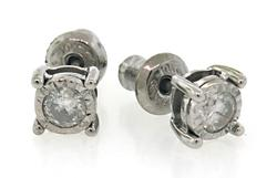 Alluring Diamond Stud Earrings