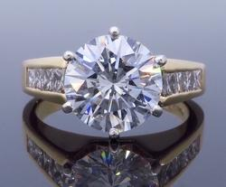 Stunning GIA Certified 2.89CTW Diamond Ring