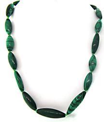 Colorful Malachite Bead Necklace