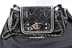 Pre-owned Designer Black Chanel Purse