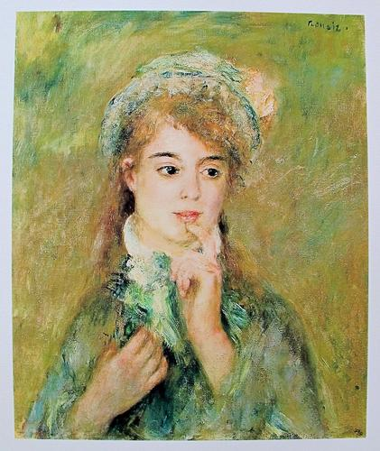 'The Ingenue' Limited Edition Giclee By Renoir