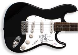 VELVET REVOLVER Matt Sorum Signed Guitar & PROOF PSA/DNA