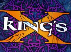 Kings X Autographed 12x12 Poster Signed Album LP Flat Ear Candy