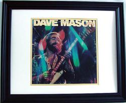 DAVE MASON Signed Certified Live Album LP PSA