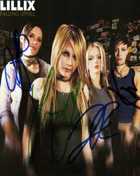 Lillix Signed CD Photo Cover & Proof
