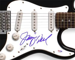 JAMIE ONEAL Signed Autographed Guitar & Proof PSA/DNA    AFTAL