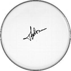 Madonna Signed Facsimile Clear Drumhead